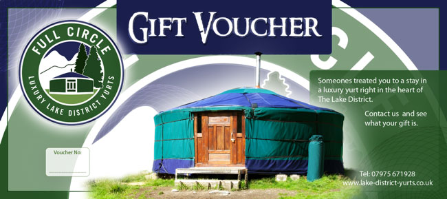 Gift voucher for a present