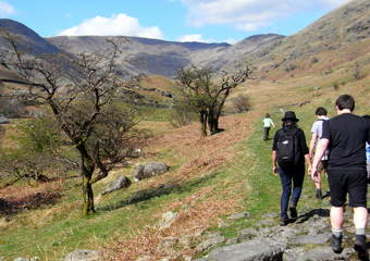 Walking holiday in the lakes of Cumbria