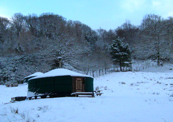 Winter holiday in the lake district